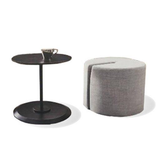 Loule Side Table w/ Stool