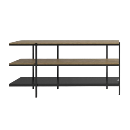 GARIS 3-Tier Low Shelving